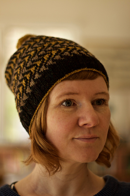 Bousta Beanie by Gudrun Johnston