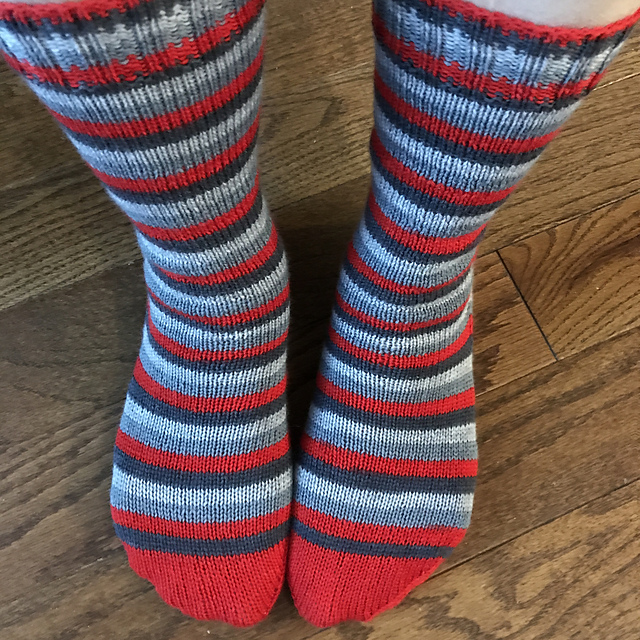 Sue2Knits Revolution Socks