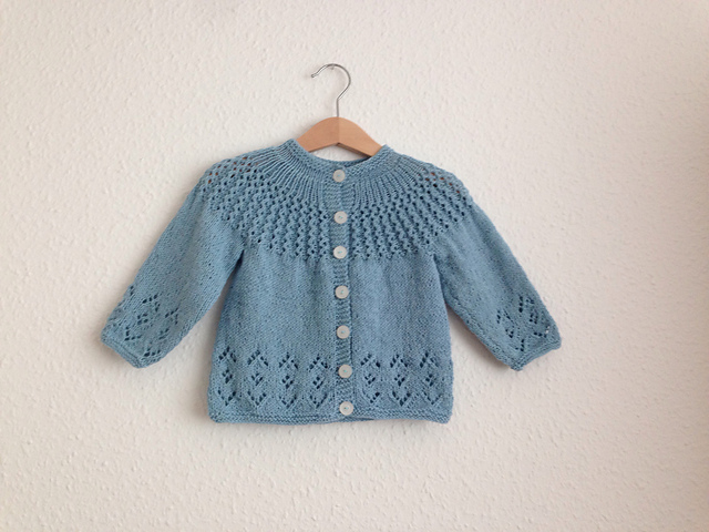 Rosabel Cardigan by Anne Dresow
