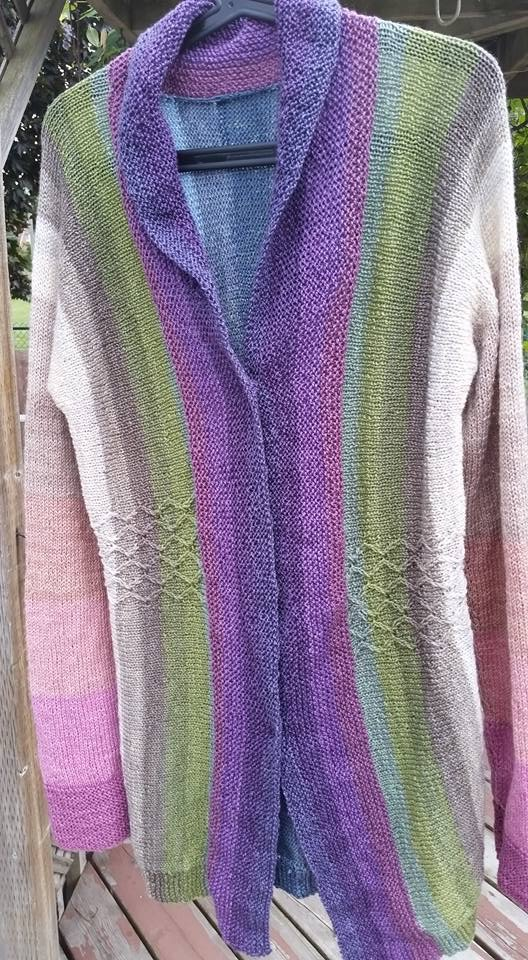 Cecilia's Rainbows in the Gorge Cardigan