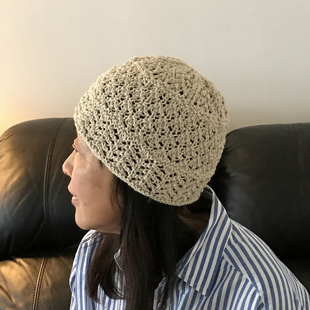 Sue2Knits Soft Lace Chemo Hat