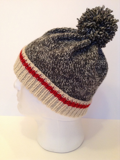 Keep Me Warm Hat by Anne Gagnon