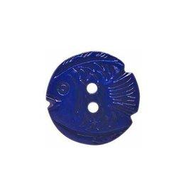 "Cirque CIRQUE Novelty 2-Hole Button - 22mm (7/8"") - Fish"