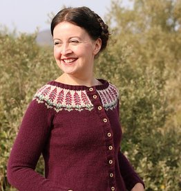 Jamieson & Smith Foxglove - Kate Davies Cardigan Kit