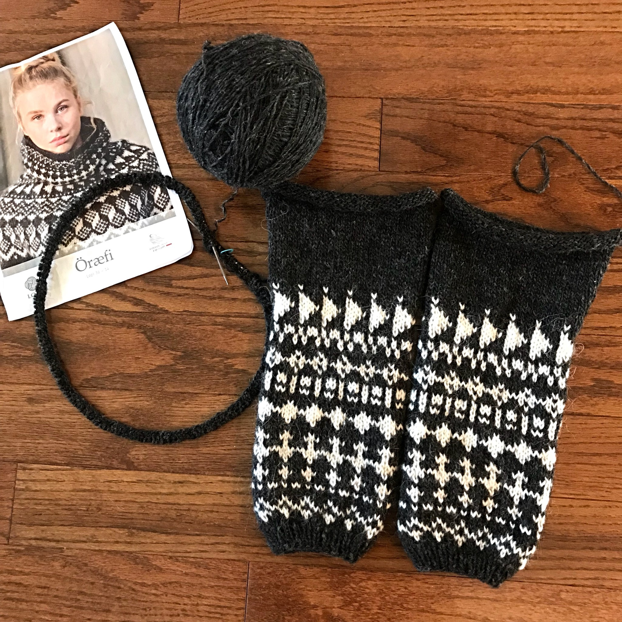 Sue2Knits Oraefi WIP-Oct 27