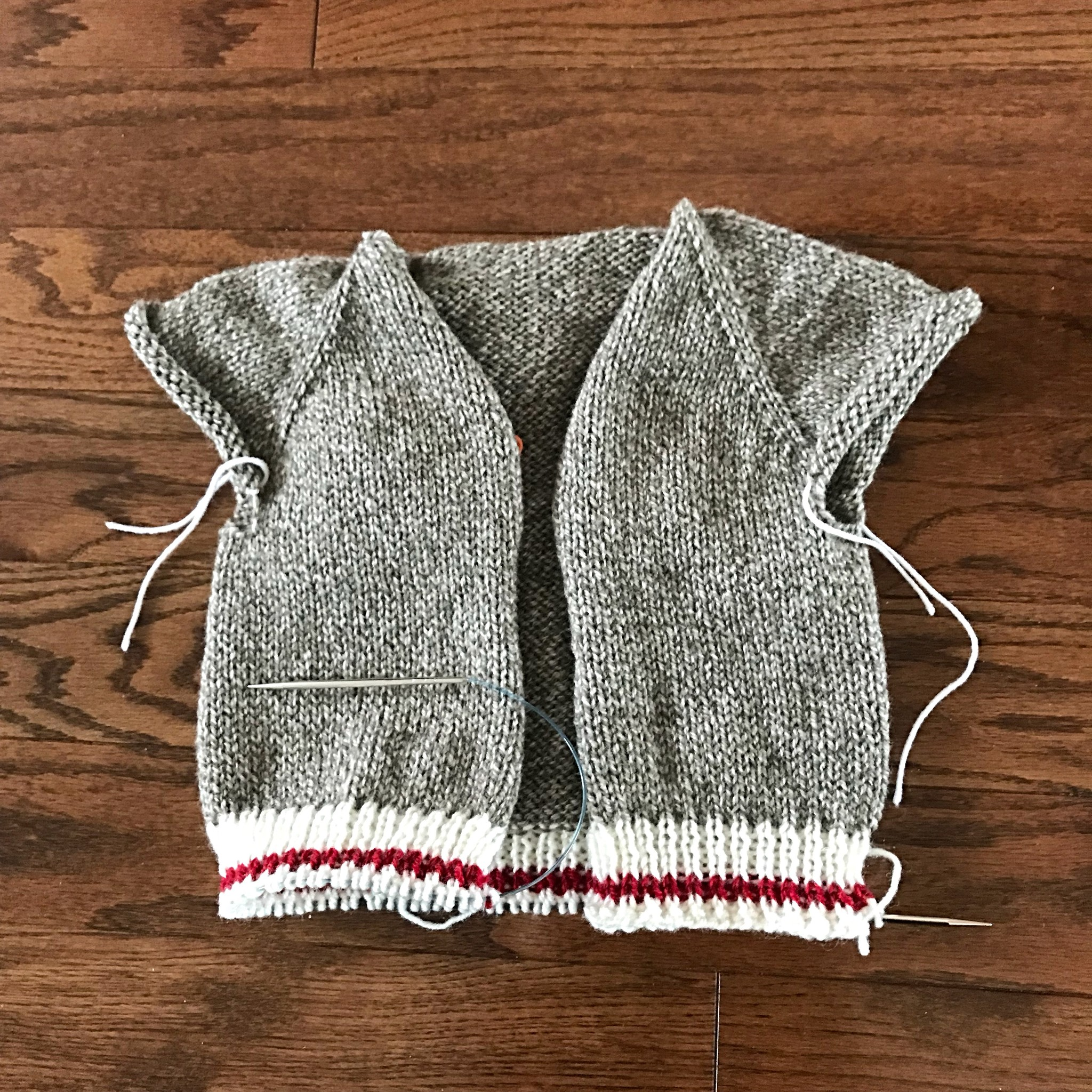 Sue2Knits Gramps WIP