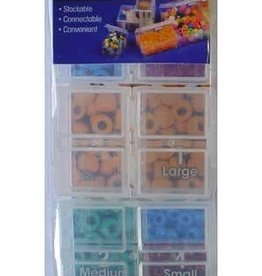 Connect-A-Box Connect-A-Box, Assorted Sizes, 7 Boxes