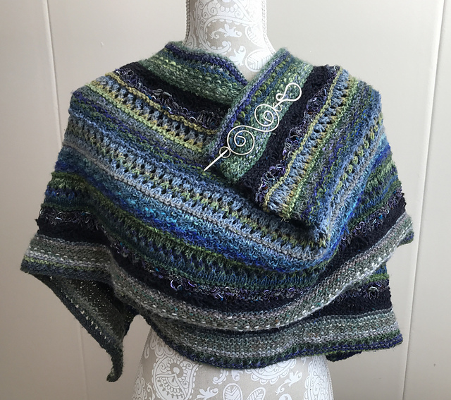 Jophilly's Stitch SAmpler Shawl