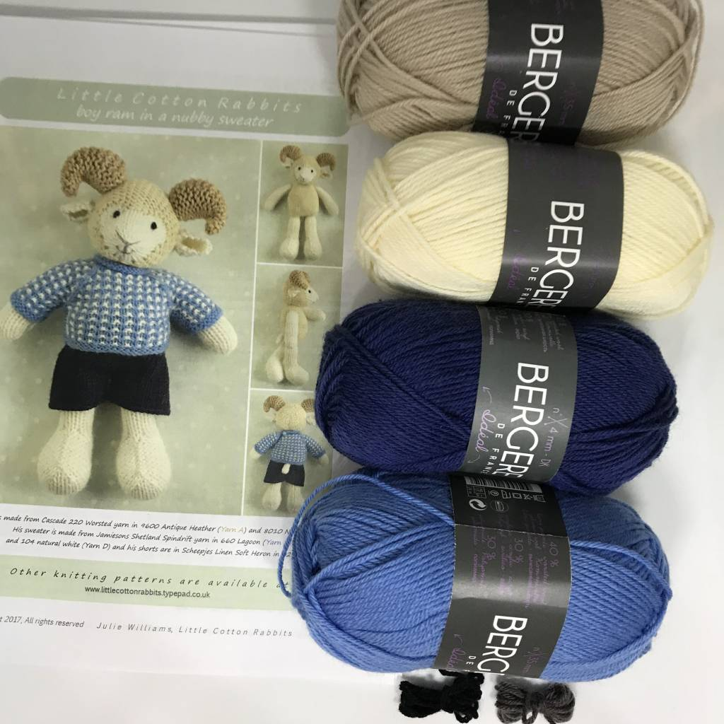Bergere de France Little Cotton Rabbits Kits