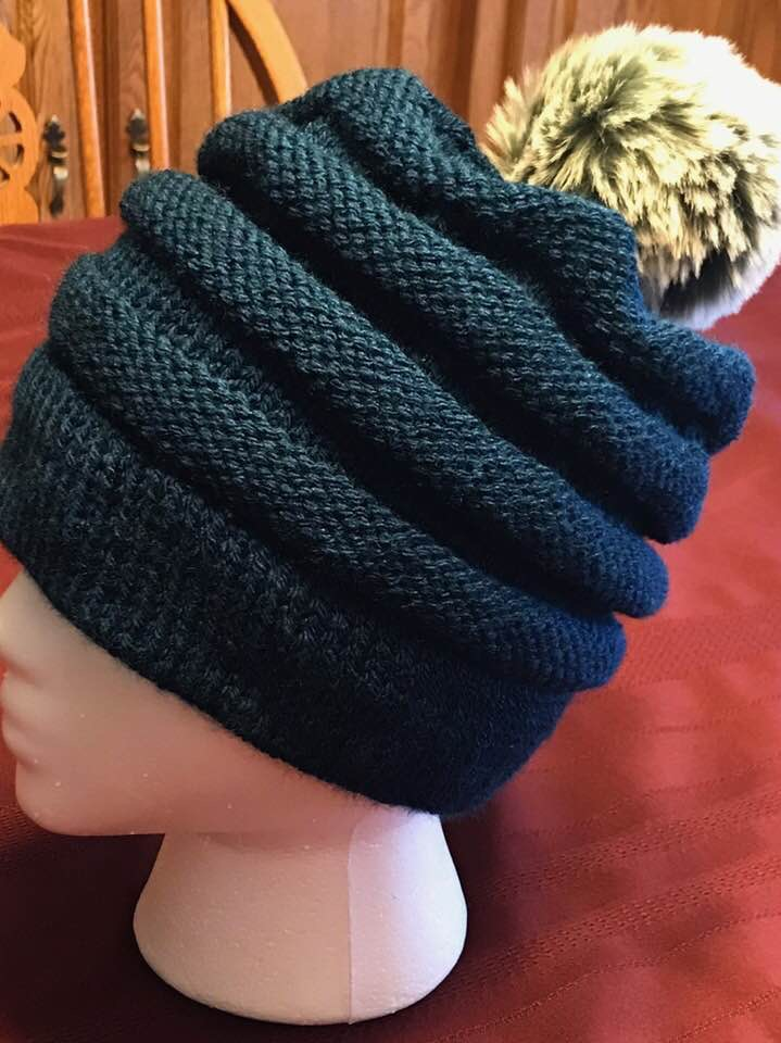 Angelas combined beanie
