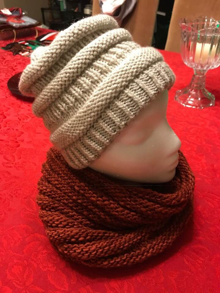 Copy Cat C.C. beanie and Wurm cowl
