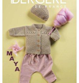 Bergere de France Mini Mag. 01 - 1 - 6 months Layette: Mérinos 2.5