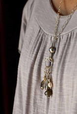 Wool & Wire Wool & Wire Stitch Marker Necklace (Silver Chain)