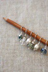 Wool & Wire Wool & Wire Mini Stitch Markers (Set of 6)