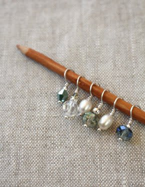 Wool & Wire Wool & Wire Spring Mini Stitch Markers (Set of 6)
