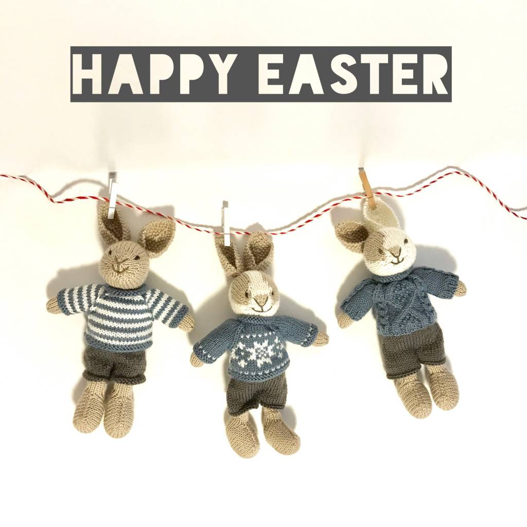 Free Pattern Fridays - Friday, March 30, 2018, Issue 47: Happy Easter Weekend!