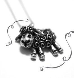Furls Cassie: Stunning Pewter Lamb Pendant