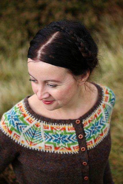 Jamieson & Smith Cockatoo Brae - Kate Davies Cardigan Kit  39.50