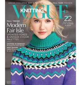 Vogue Vogue Knitting Fall 2018