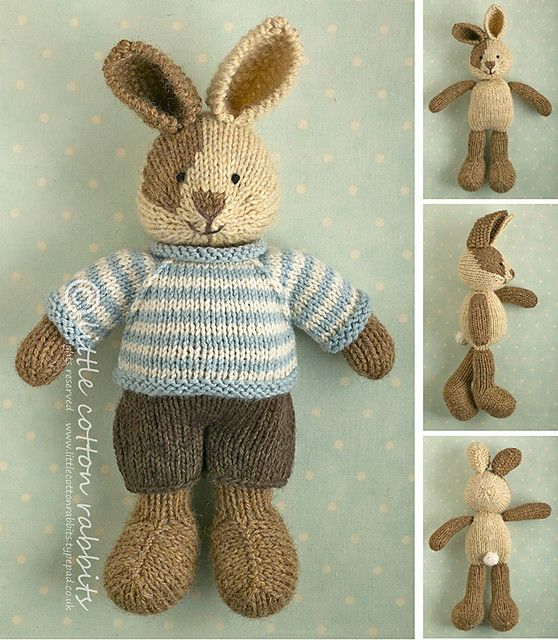 Ravelry Patterns Boy Bunny by Little Cotton Rabbits