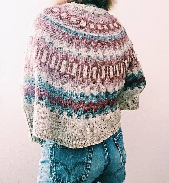 Ravelry Patterns Ninilchik Swoncho by Caitlin Hunter