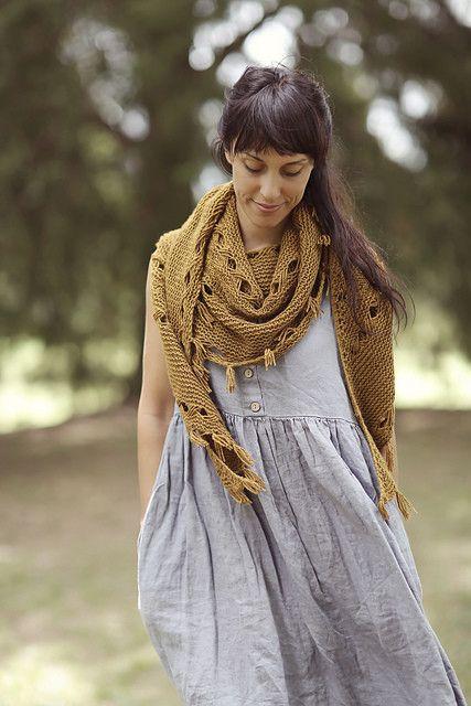 ravelry hipster shawl pattern by joji locatelli