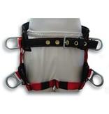 Buckingham Saddle, Lightweight w/ padded leg straps Medium