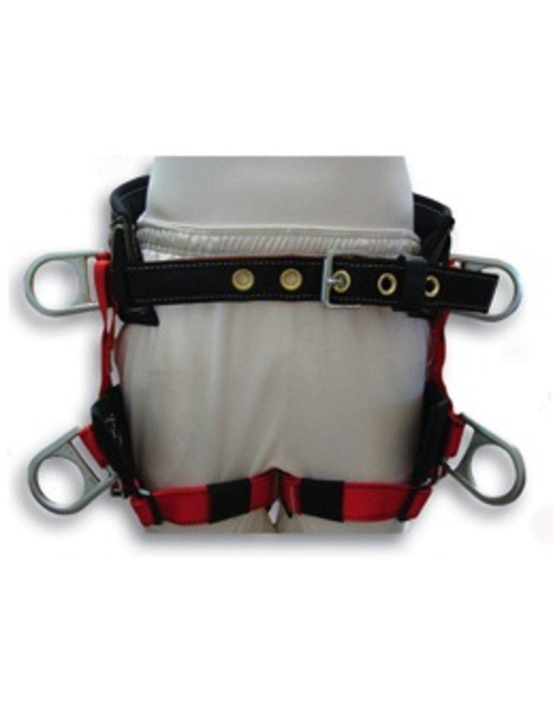 Buckingham Saddle, Lightweight w/ padded leg straps small