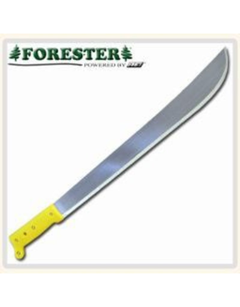 "Forester Machete, 18"" Plastic Handle, 22"" approx. over all length"