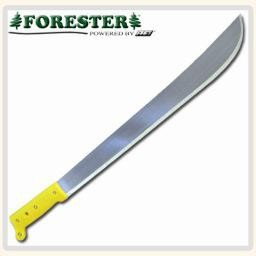 """Forester Machete, 18"""" Plastic Handle, 22"""" approx. over all length"""