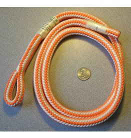 """Teufelberger Braided High-Vee """"Safety Blue"""" 1/2"""" x 4' with One Eye"""