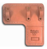 "Buckingham A quality leather pad with 3 loops and a tunnel design to keep climber stationary. All leather construction with 3/4"" padding."