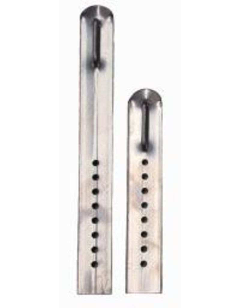 "Buckingham Long chrome colored climber sleeves; adjust from 19 1/4"" to 21 3/4"" for standard length climbers."
