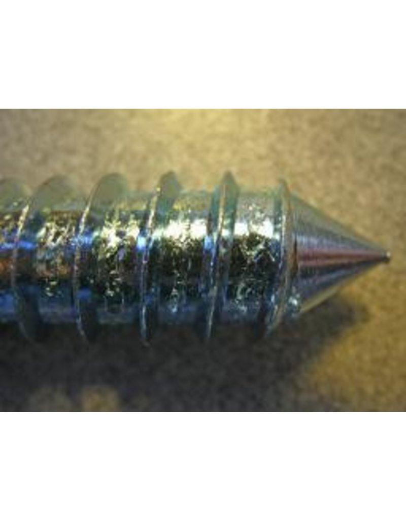 """Fehr Bros. J-LAG 3/8"""" Left Hand Thread, Zinc Plated"""