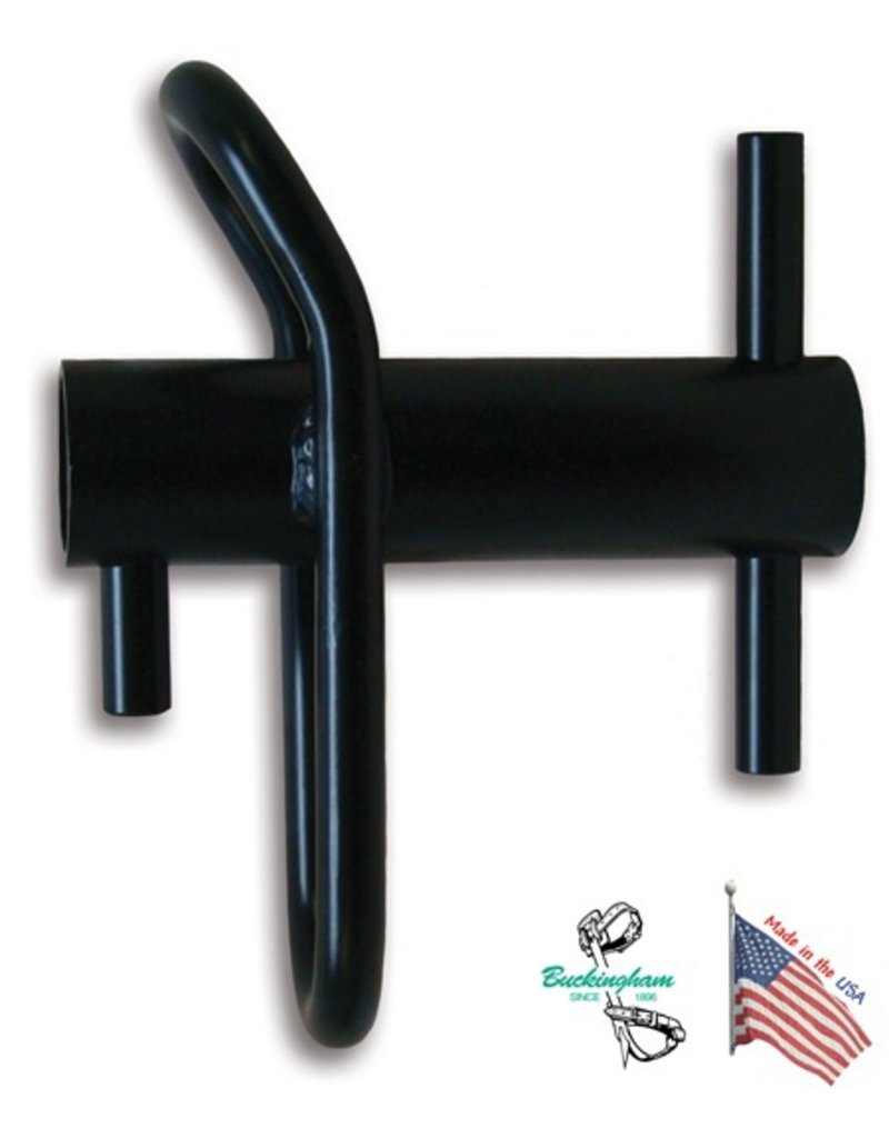 "Buckingham Working load of 2000lbs, use up to 9/16"" rope, powder coated steel"