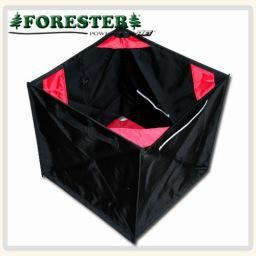 """Forester Folding throw lne cube. The best way to gather and store throw line. Opens to a large 17"""" cube and can be folded down into a small triange. Built to last."""