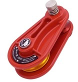 ISC Block, Aluminum, 5/8, Red, Small, Orange Sheave