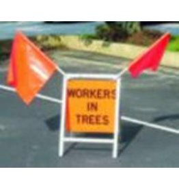 "USA-SIGN® Sign Kit 18""  Men Working in Trees"