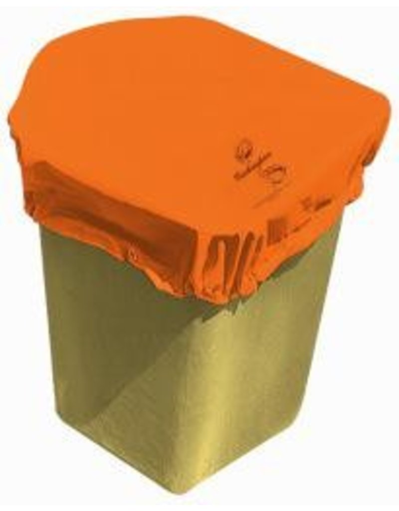 "Buckingham Vinyl coated nylon cover wraps snugly around standard one-man buckets with a heavy duty sewn in bungee cord and snap to secure itself to the bucket. Includes one grommet hole. Fits up to a 50"" square bucket. Add ""Y"" for yellow and ""B3"" for black."