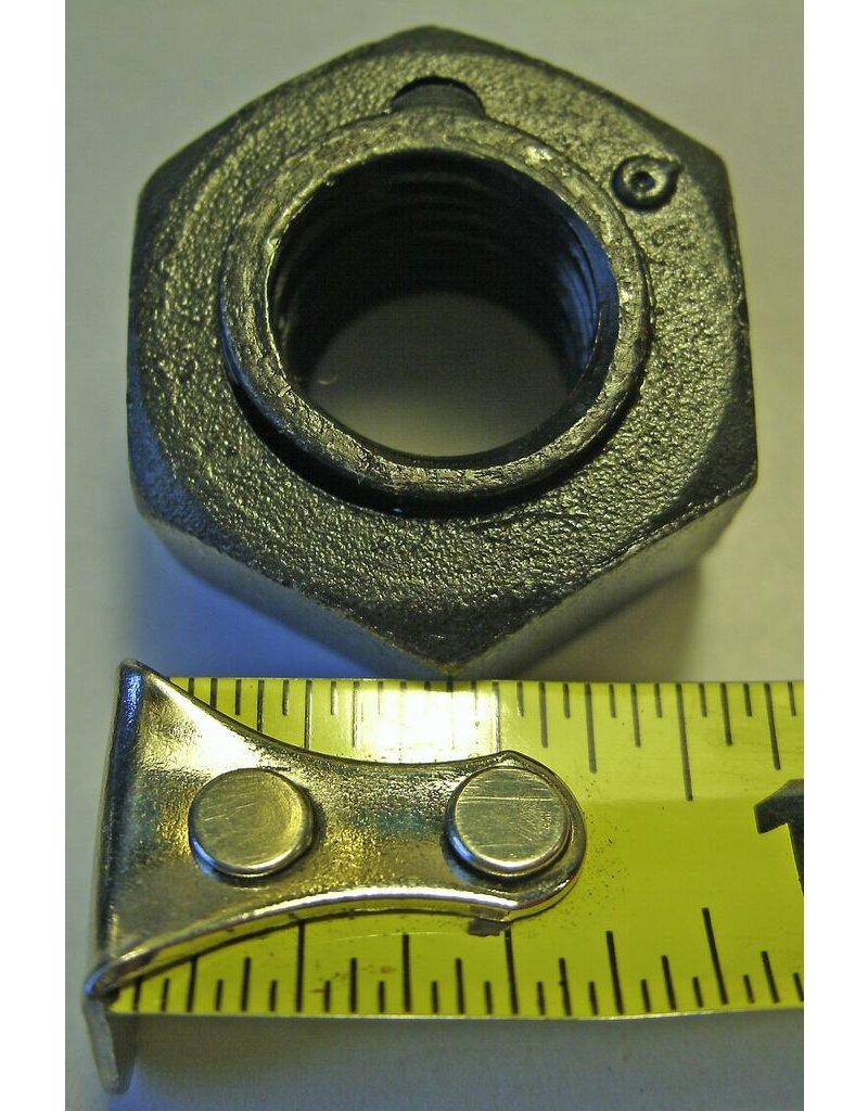 """Bandit® Blade Nut/Steel Lock 1/2"""", 1/2-13 Thread, 7/8"""" wrench"""
