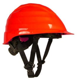 Rockman Rockman Dielectric Arborist Helmet in Red with 4 point chin strap
