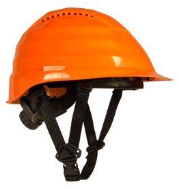 Rockman Forestry Helmet, Vented, Orange