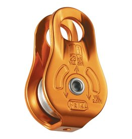 Petzl FIXE, Yellow, Versatile compact pulley