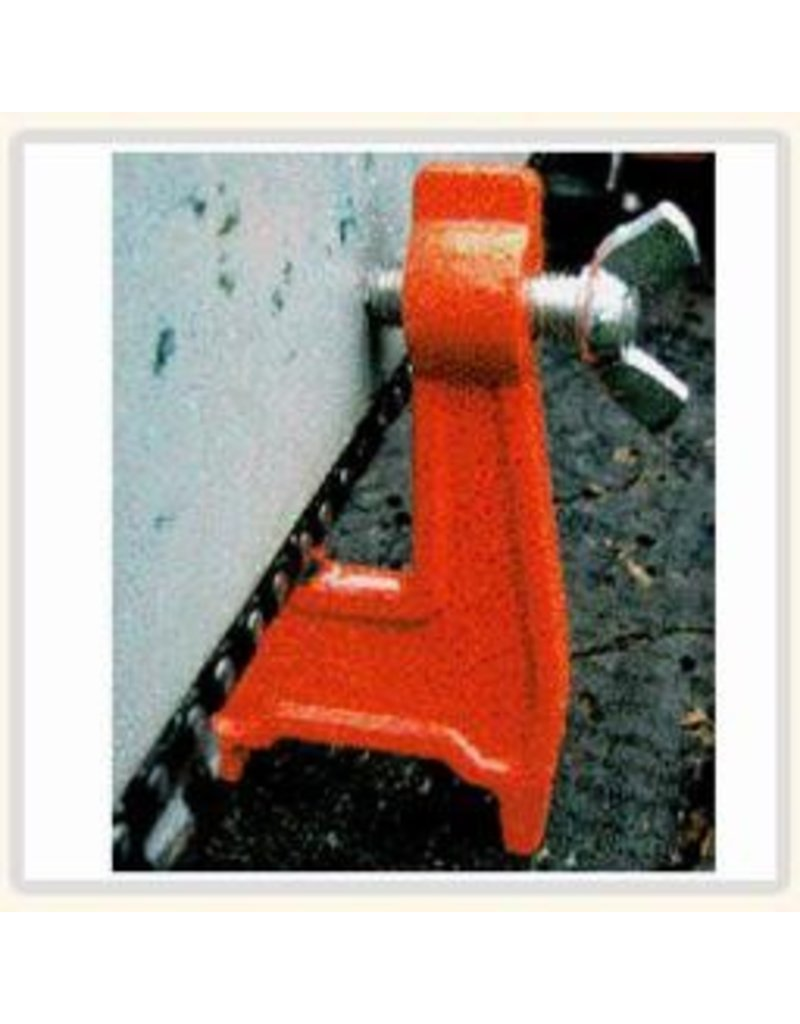Forester A must have tool for loggers, Arborists, wood cutters, or anybody needing a steady vise for in-the-woods filling of you saw chain. Pound in and ready to use.
