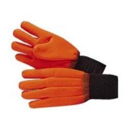 Glove GLOVES, Jersey Knit w/orange coating