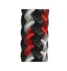 """Samson Rope Black/Red/White 1/2"""" x 600' Arbormaster AVERAGE STRENGTH 8,100#"""