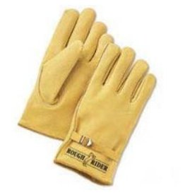 "Glove GLOVES ""Rough Rider"" Drivers Gloves with Adjustable Strap Size XL"