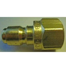 """PARKER HANNIFIN High Flow Quick Nipple 3/8"""" Female Pipe Threads"""