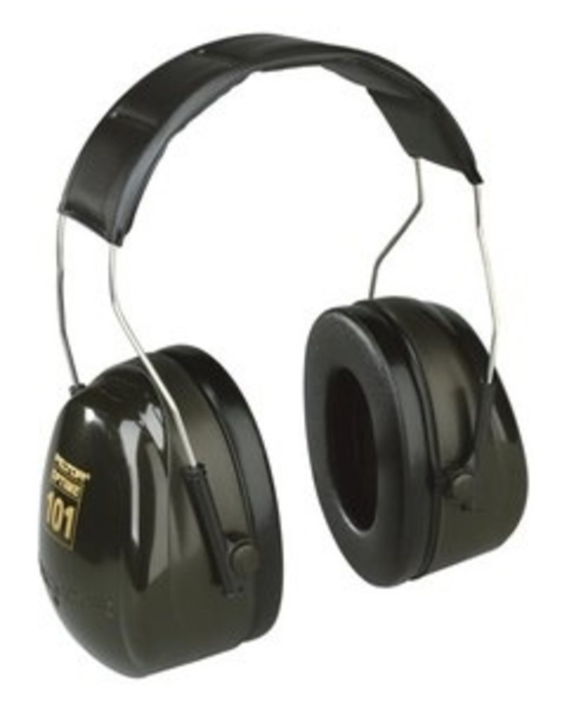 3M PELTOR Peltor's OPTIME line of muffs incorporates all the acoustic engineering, <br />