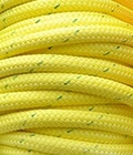 """All Gear Inc. BULL ROPE 9/16"""" x 600' 14,000lbs. ABS, Yellow w/ Green Tracer"""